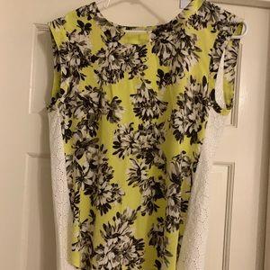 Tops - JCrew floral blouse